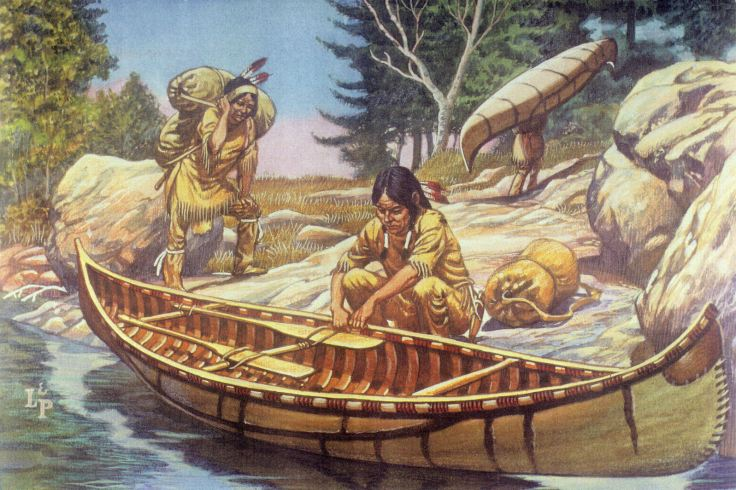 Iroquois Canoe For Web Site july 2013