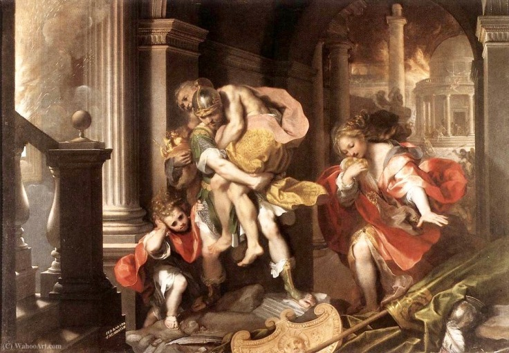 federico_barocci-aeneas_flight_from_troy