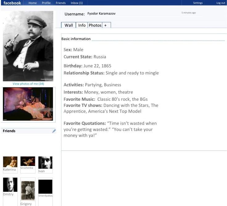 Karamazov Facebook Page