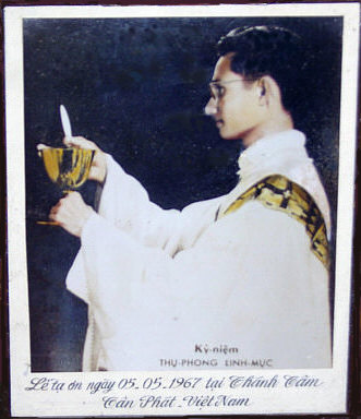 Fr. Khoát's first mass in South Vietnam ~ pc todayscatholicworld.com