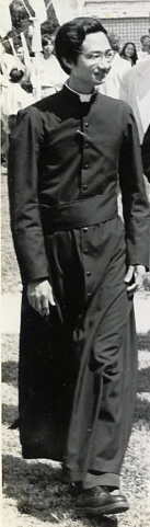 Fr. Khoát in Port Arthur, 1979 ~ pc todayscatholicworld.com