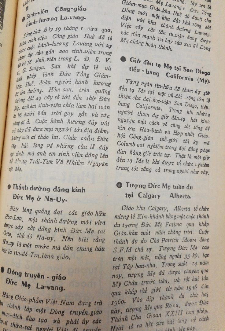 SVN Marianism 1962